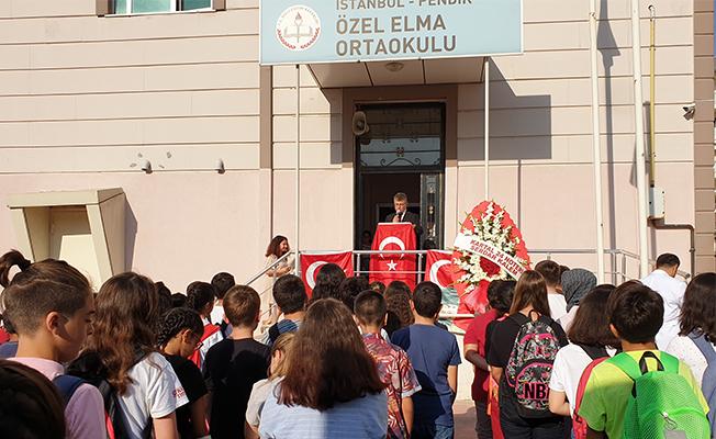 Elma Kolejinde 2019-2020 eğitim-öğretim yılı törenle açıldı